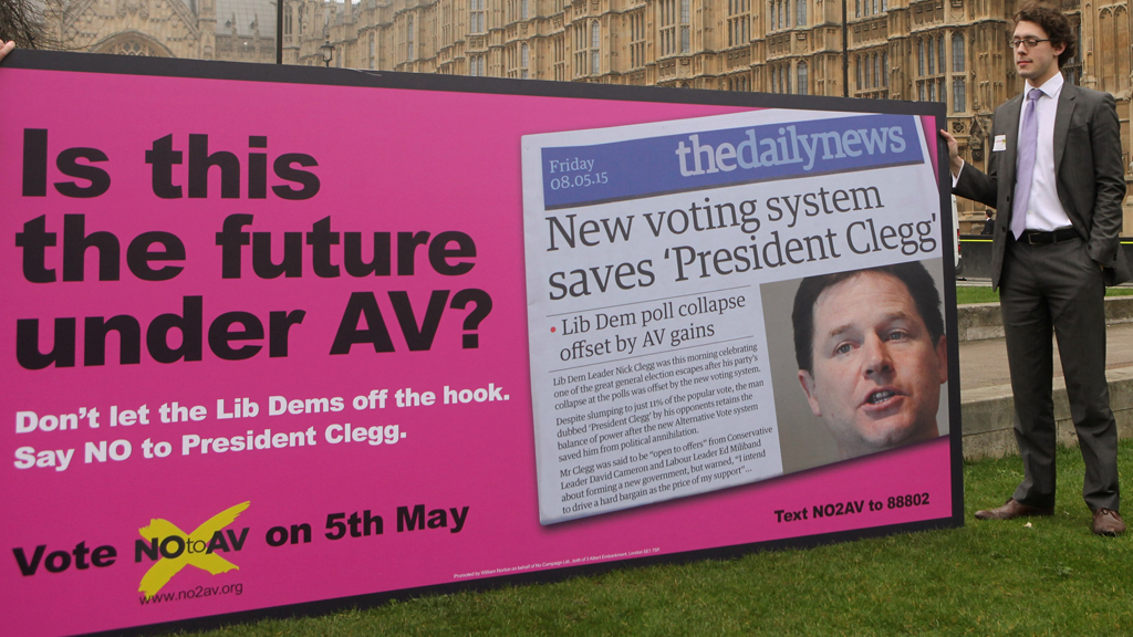 AV vote will not break the Coalition, insists Cameron – Channel 4 News