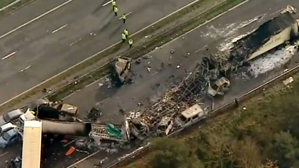 Seven dead after 'horrific' M5 crash – Channel 4 News