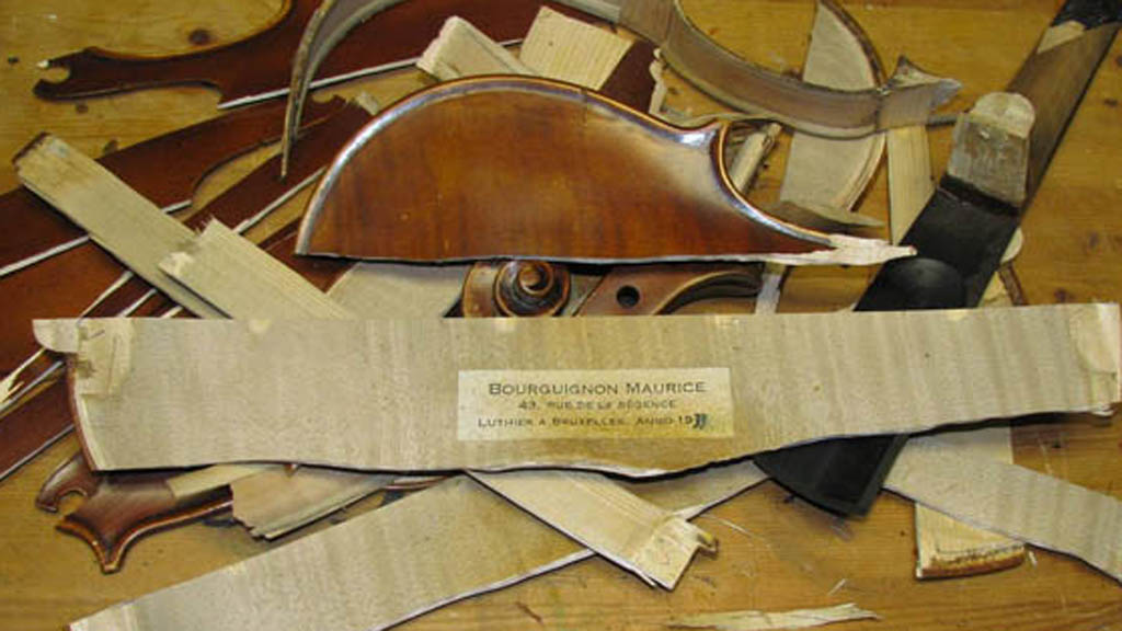 Destroyed Ebay Violin Could Have Been Saved Channel 4 News