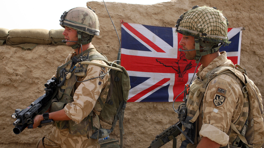 British troops in Afghanistan: 13 years of the war on
