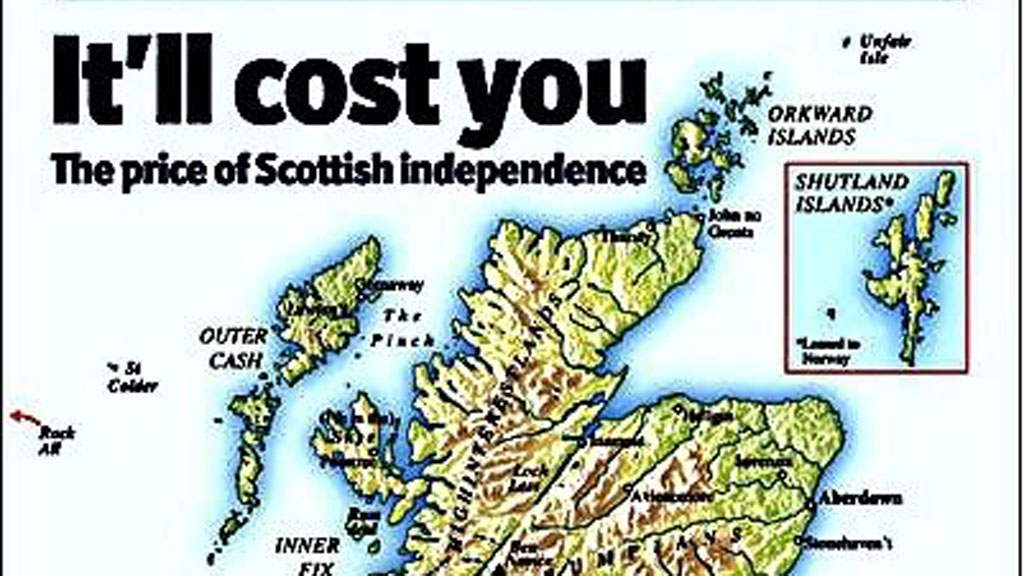 Scots see red over Economist front cover – Channel 4 News