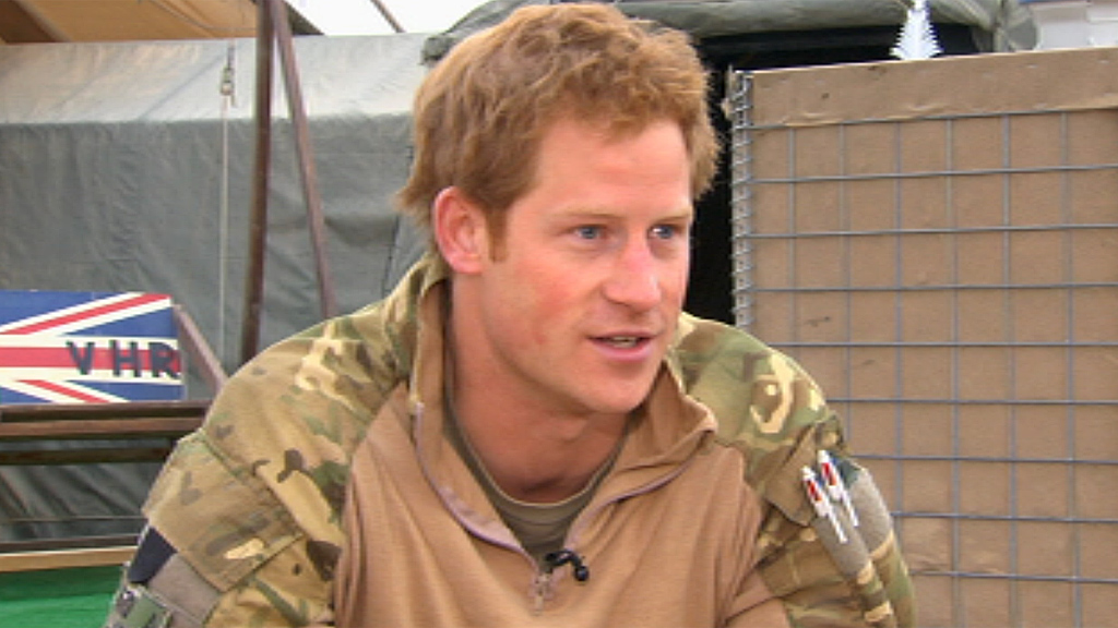 Prince Harry on Nude Photos: Too Much Army, and Not