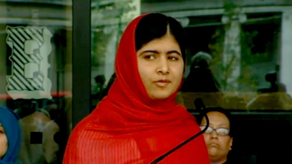 Malala Yousafzai: 'A city without books is like a graveyard'