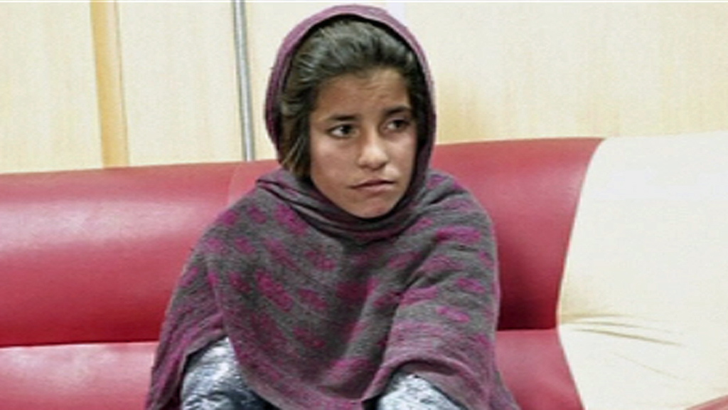 Afghan girl 'forced to wear suicide bomb vest'