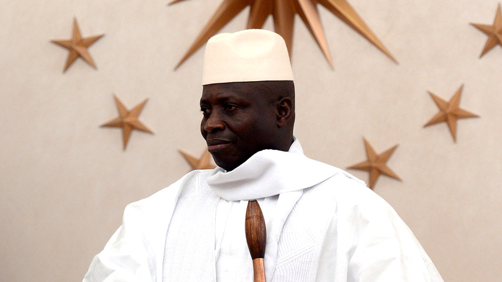 Gays are 'vermin', says Gambian president