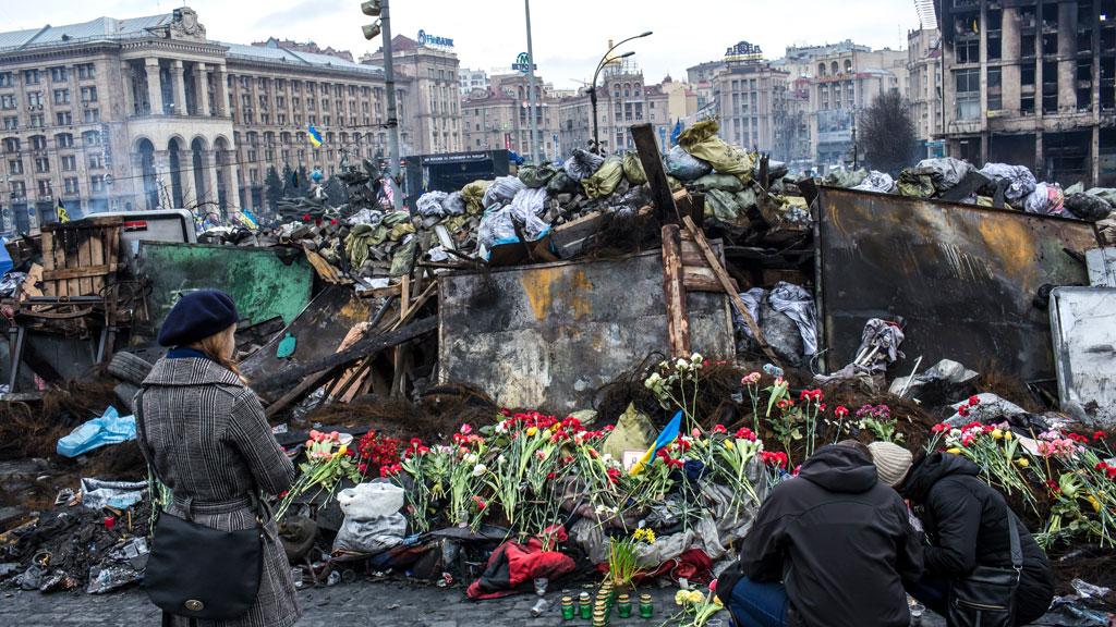 ukraine revolution interim president appointed channel 4 news