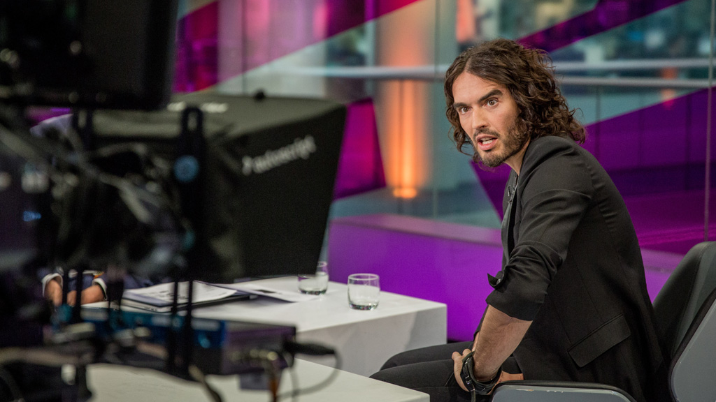 Russell Brand: 'You know I want a revolution, Jon mate'
