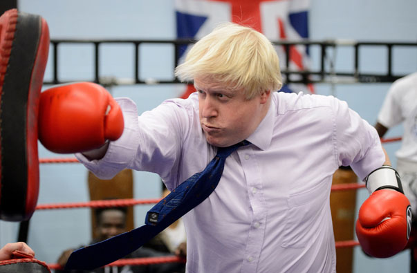 BRITAIN-BOXING-MAYOR