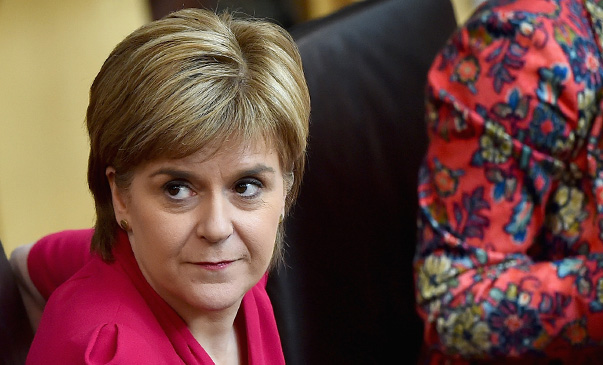 Scottish First Minister Unveils Her New Programme For Government