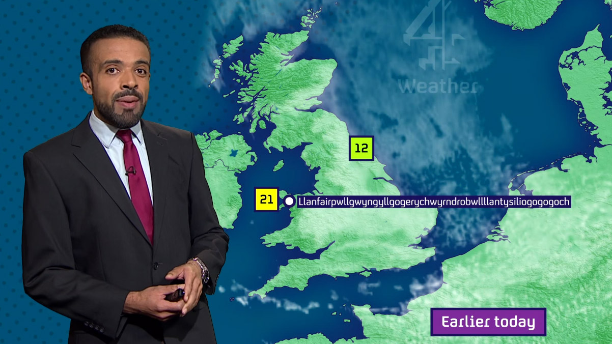 Liam Dutton's tongue twister forecast creates interstorm