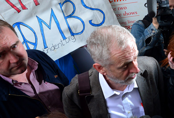 Labour Leadership Hopeful Jeremy Corbyn Campaigns In Scotland