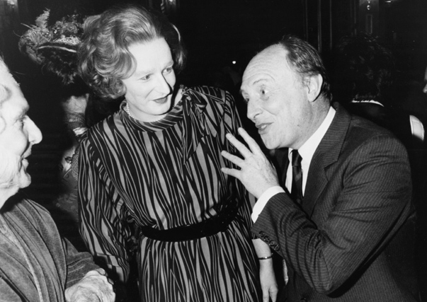 Margaret Thatcher And Neil Kinnock