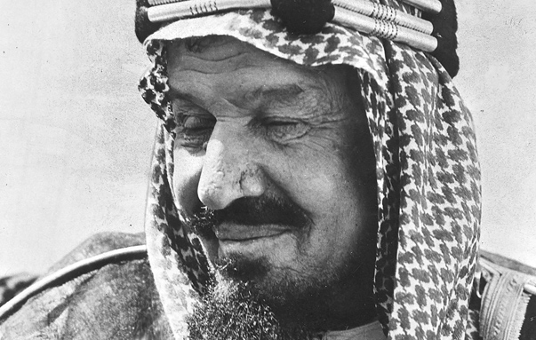 (GERMANY OUT) *1880-1953+König von Saudi - Arabien (1926-1953)Porträtum 1950 (Photo by ullstein bild/ullstein bild via Getty Images)