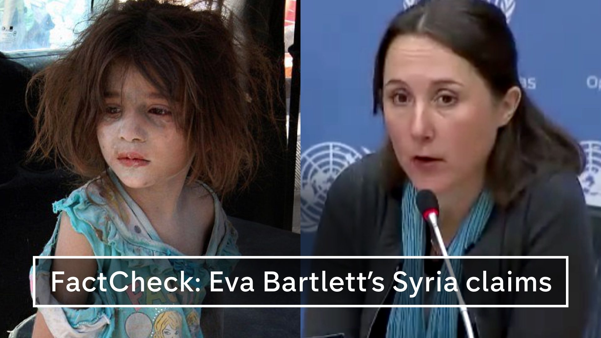 70a6eb097fd FactCheck  Eva Bartlett s claims about Syrian children – Channel 4 News