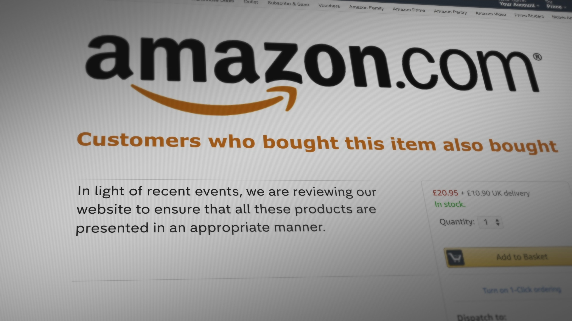 Amazon reviews website after Channel 4 News bomb-making investigation