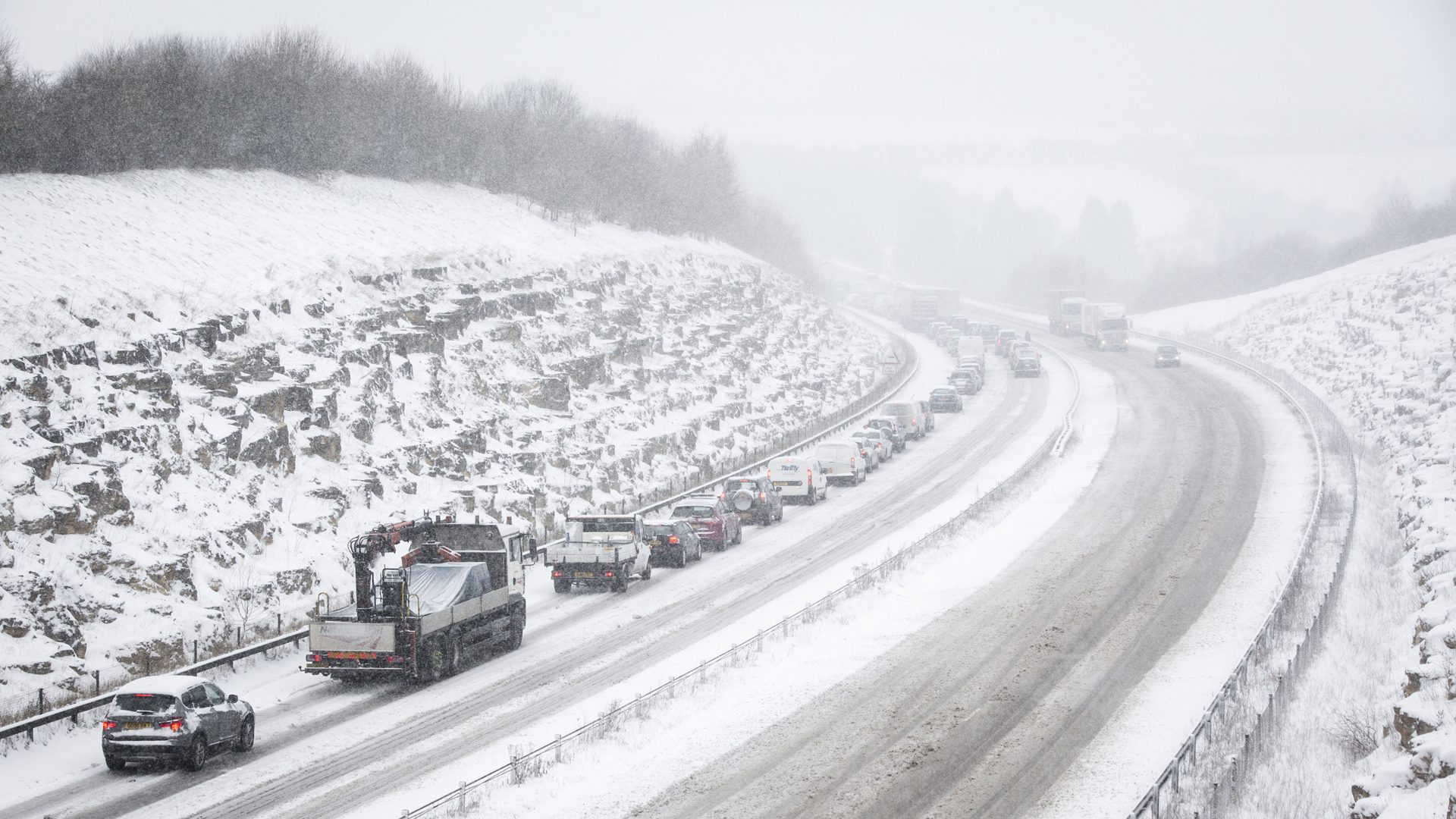 Where you can expect to see snow in the UK this weekend – Liam ...