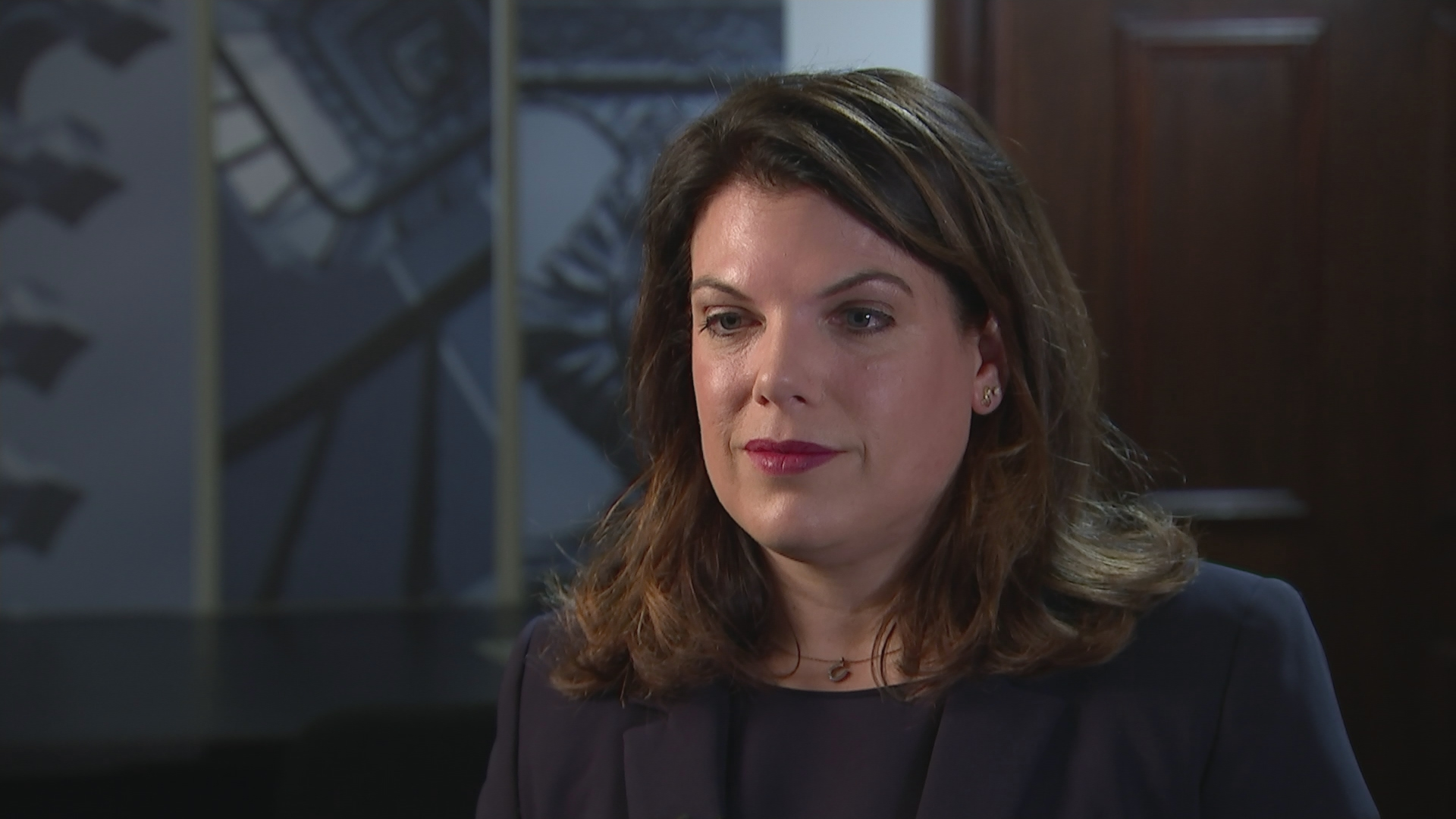 caroline nokes   u2018i u2019m very sorry that this has come about  but my main priority is to put it