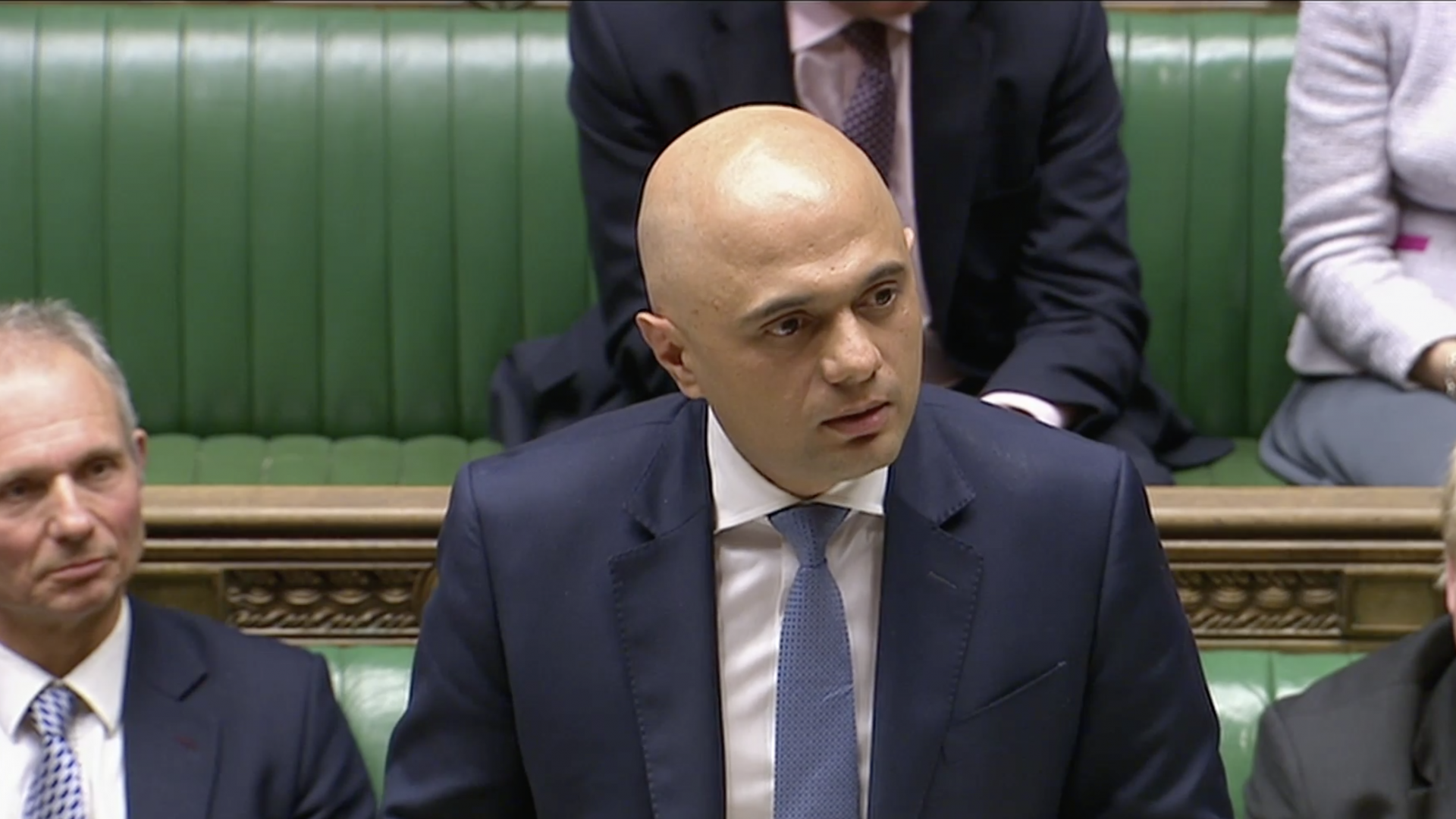 Sajid Javid appointed Home Sec...