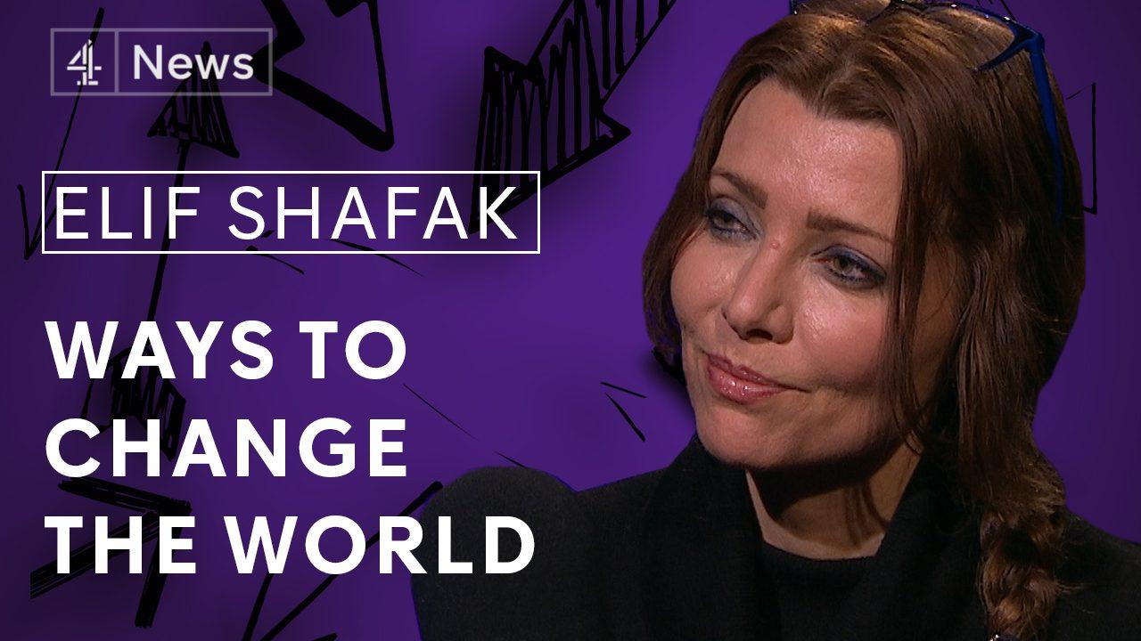 Series 2, Episode 11: Elif Shafak – Channel 4 News