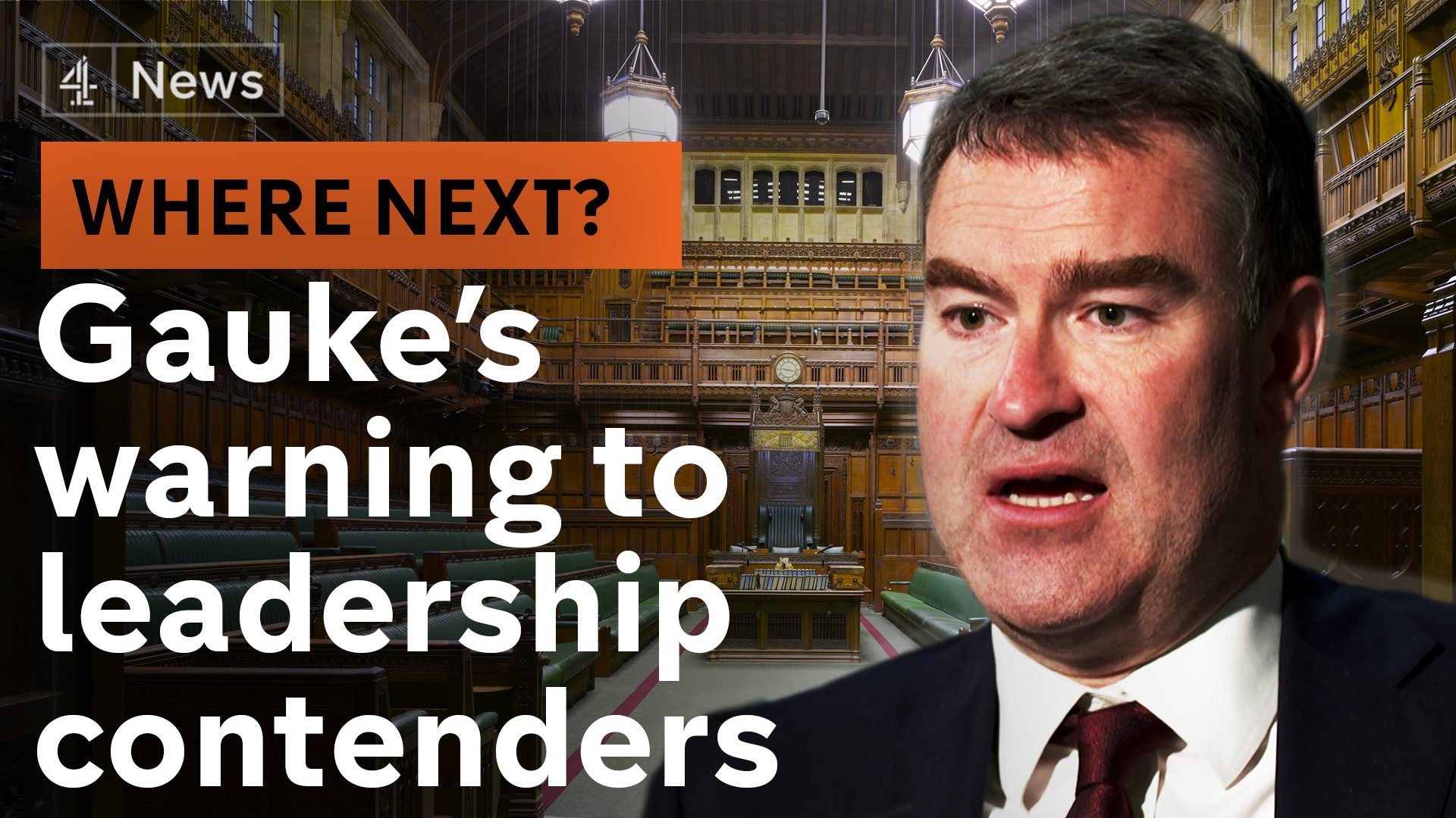 Justice Secretary warns leadership contenders: lurch right and we split   Politics: Where Next? podcast