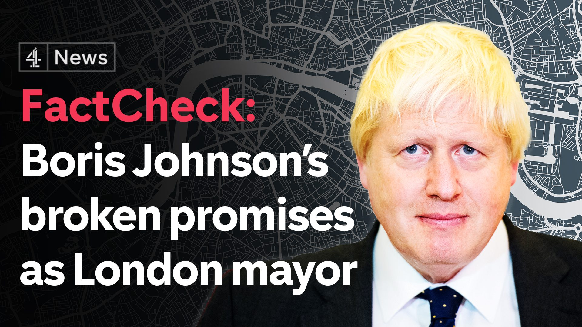 FactCheck: Boris Johnson's broken promises as London mayor ...