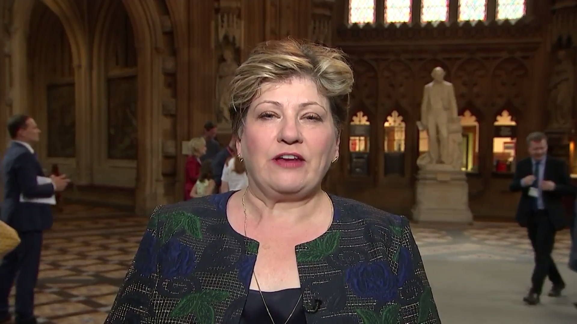 Labour's Emily Thornberry: 'Why on earth should we be bowing down in front of this dreadful President?'
