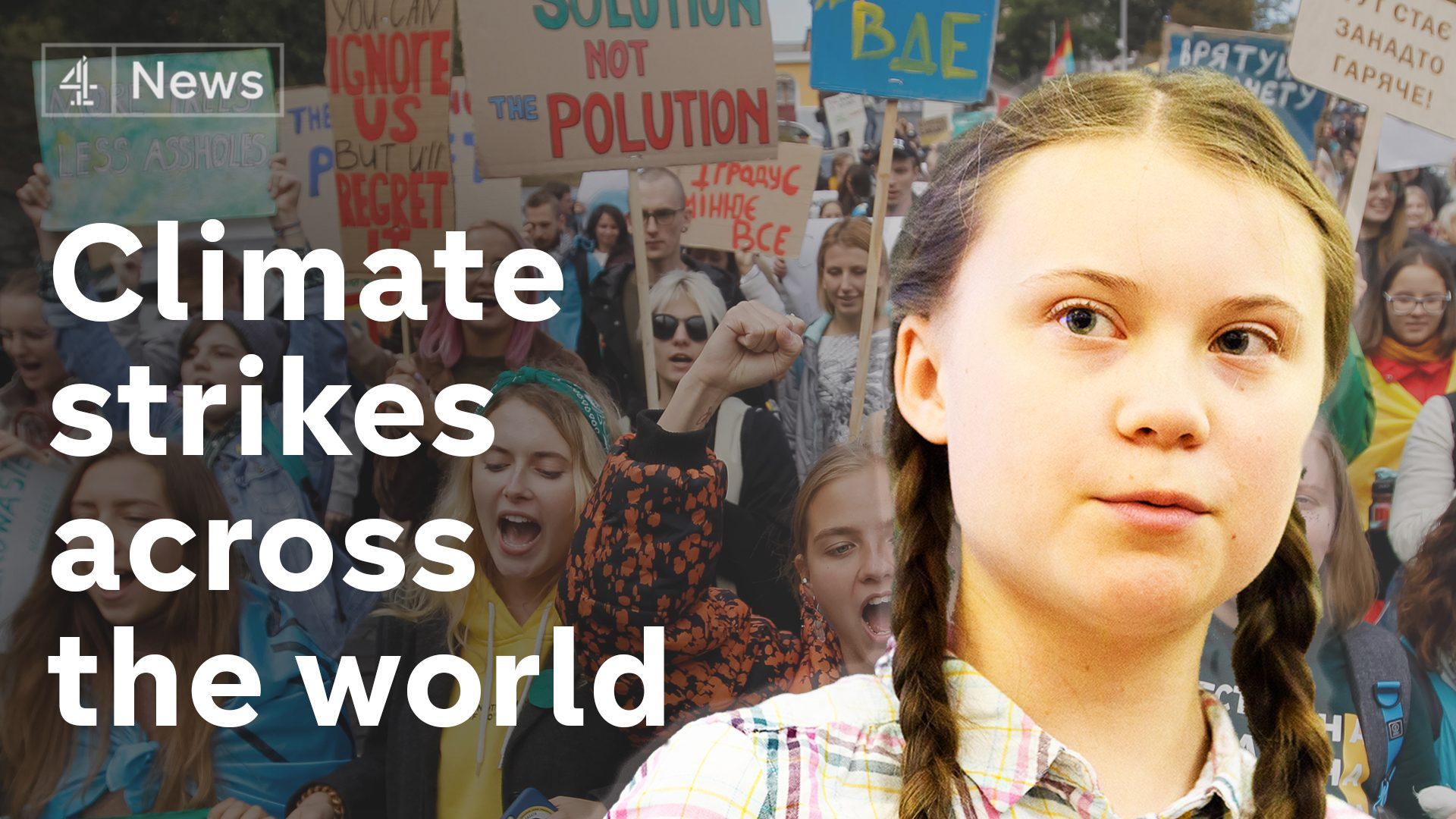 #ClimateStrike: Millions take to the streets to save the world