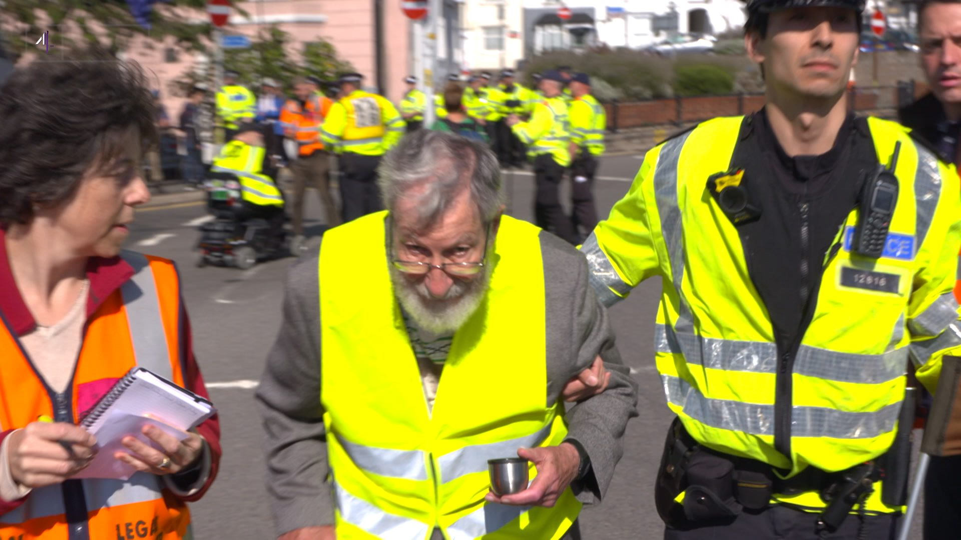 91-year-old among those arrested in Extinction Rebellion climate protest