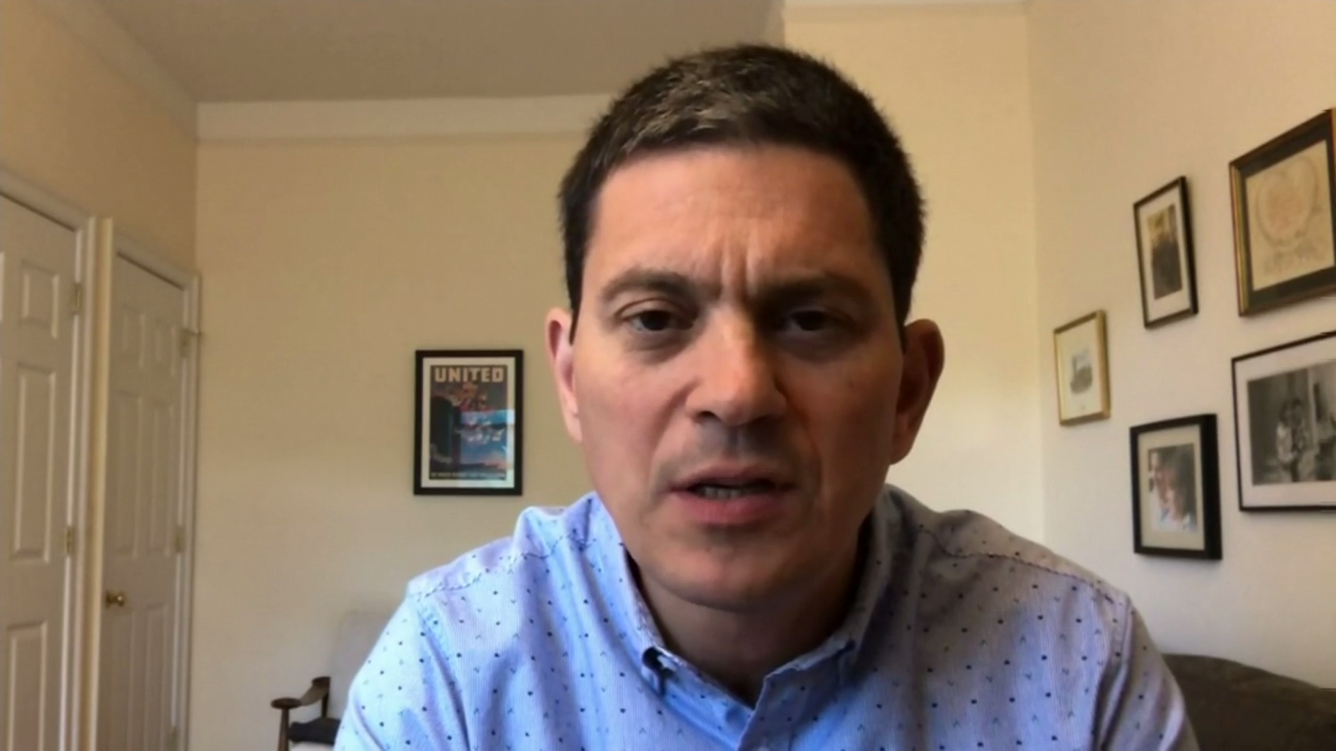 President of International Rescue Committee David Miliband on the hundreds of thousands displaced by Turkey-Syria conflict