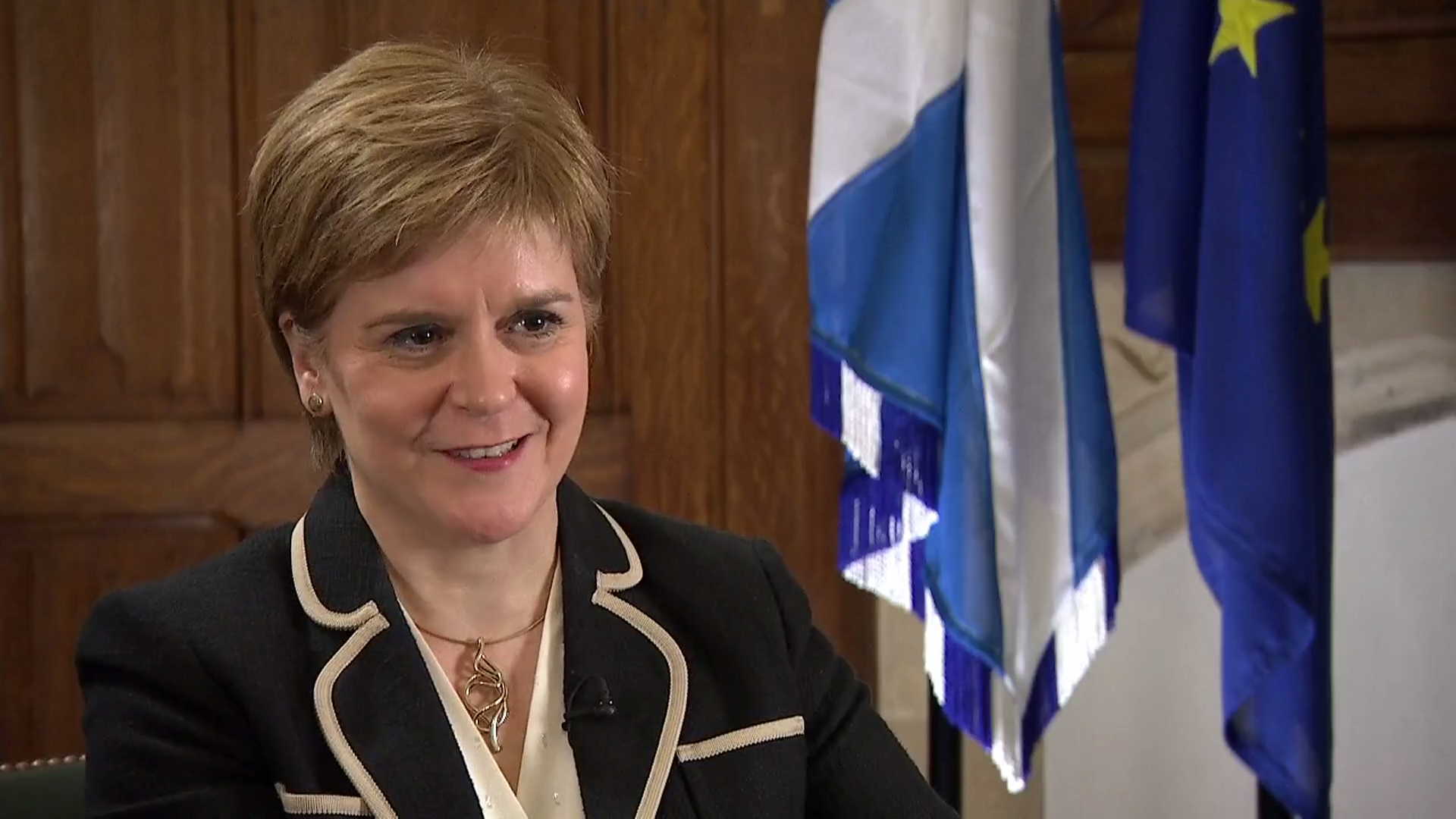 Nicola Sturgeon: 'Huge sympathy for Catalonia… Scottish independence must be legal and legitimate'