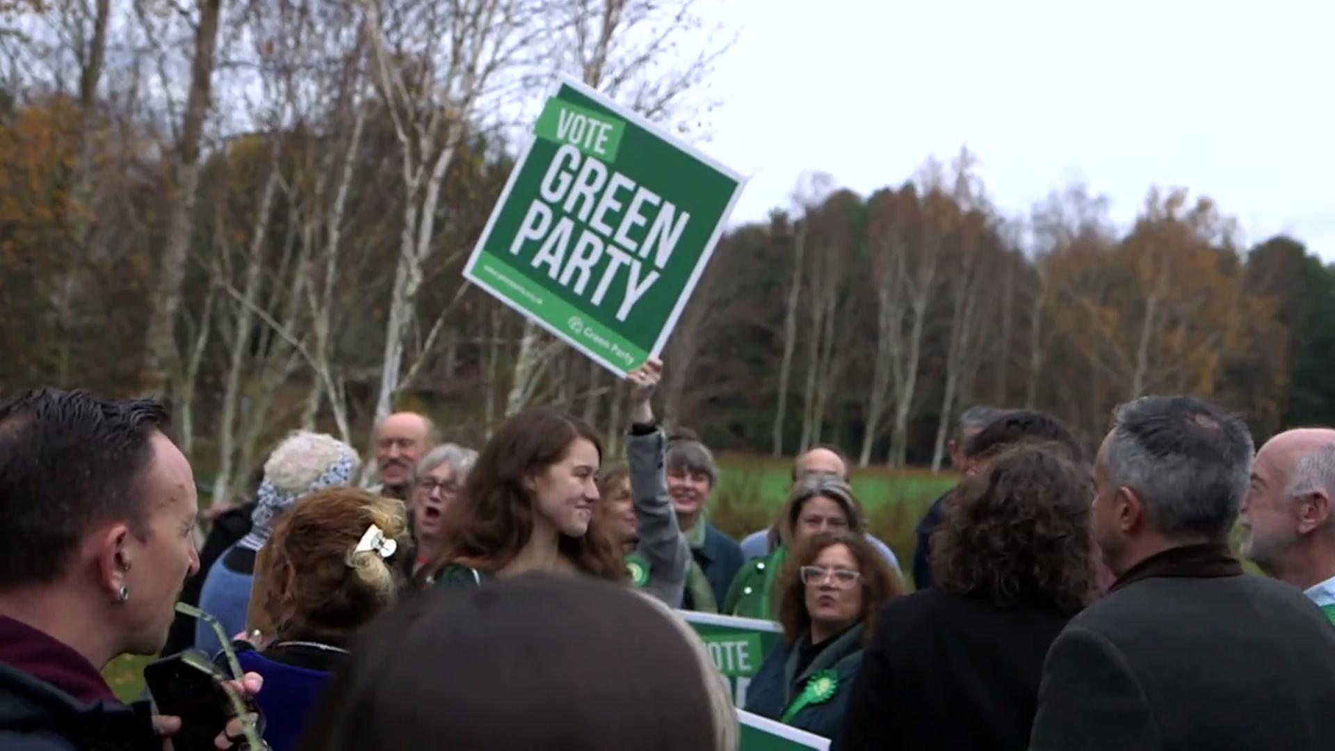 Green Party pledge net zero carbon emissions by 2030
