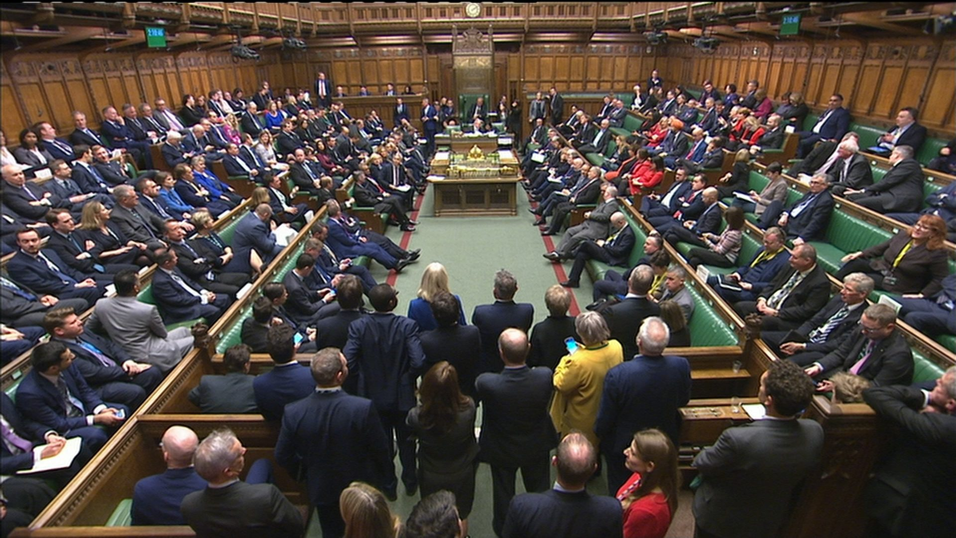 MPs back Johnsons EU withdrawal bill