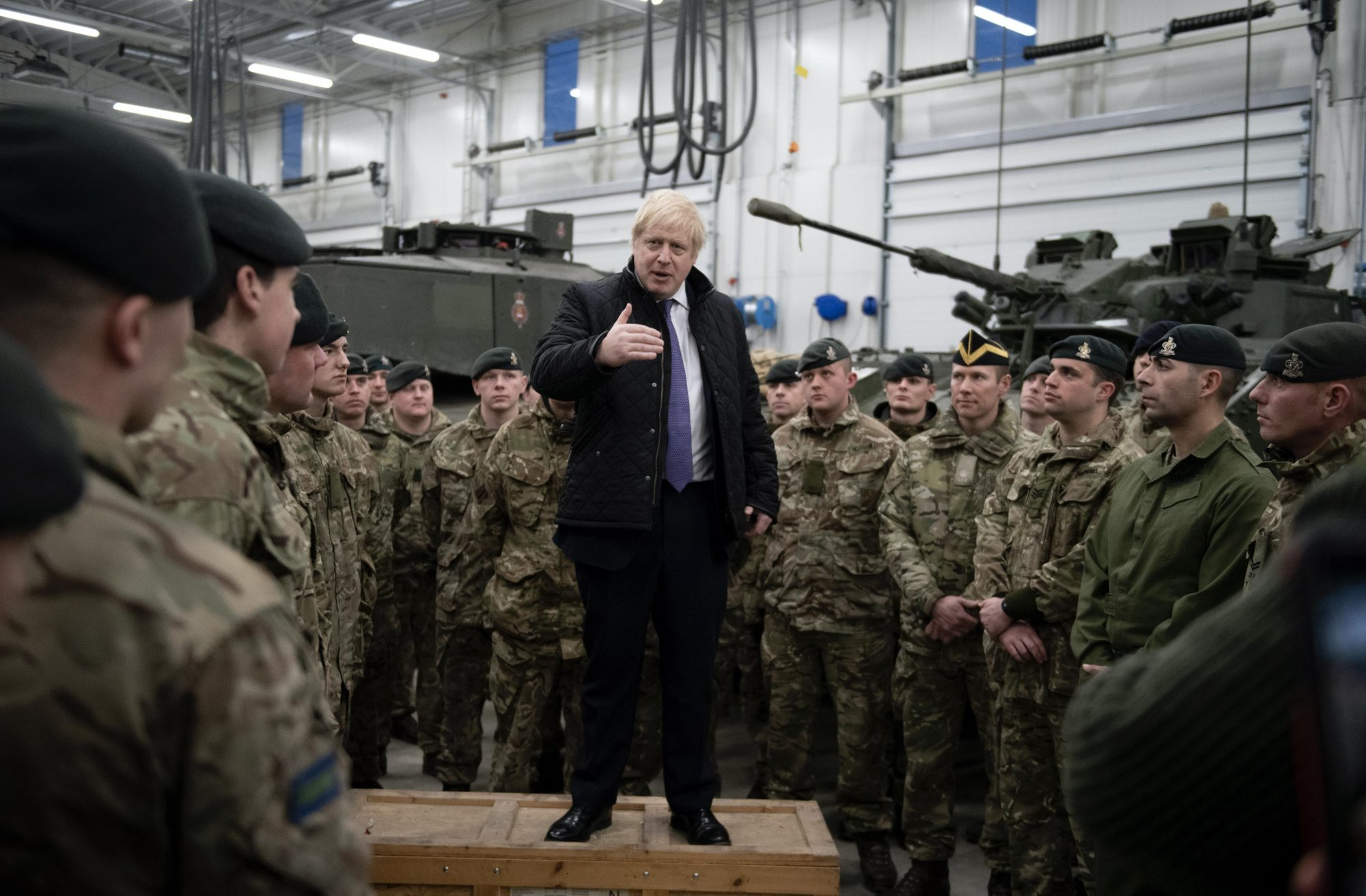 MOD 2000x1312 - Johnson insists Britain is 'absolutely' committed to NATO – Channel 4 News