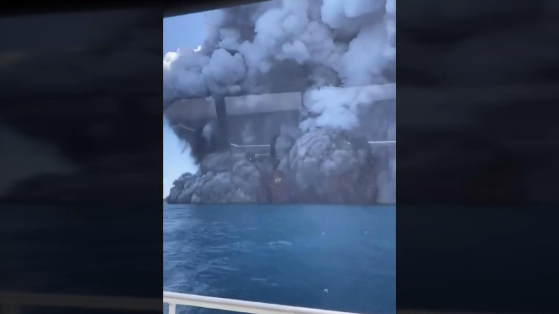Five dead after New Zealand volcano erupts