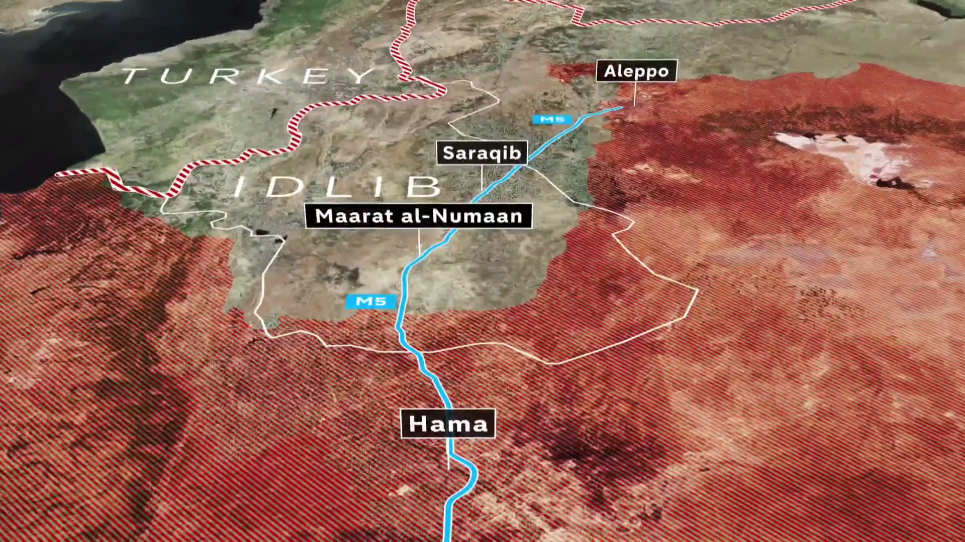 Hundreds of airstrikes hit Syria as Assad's forces seek to take back control