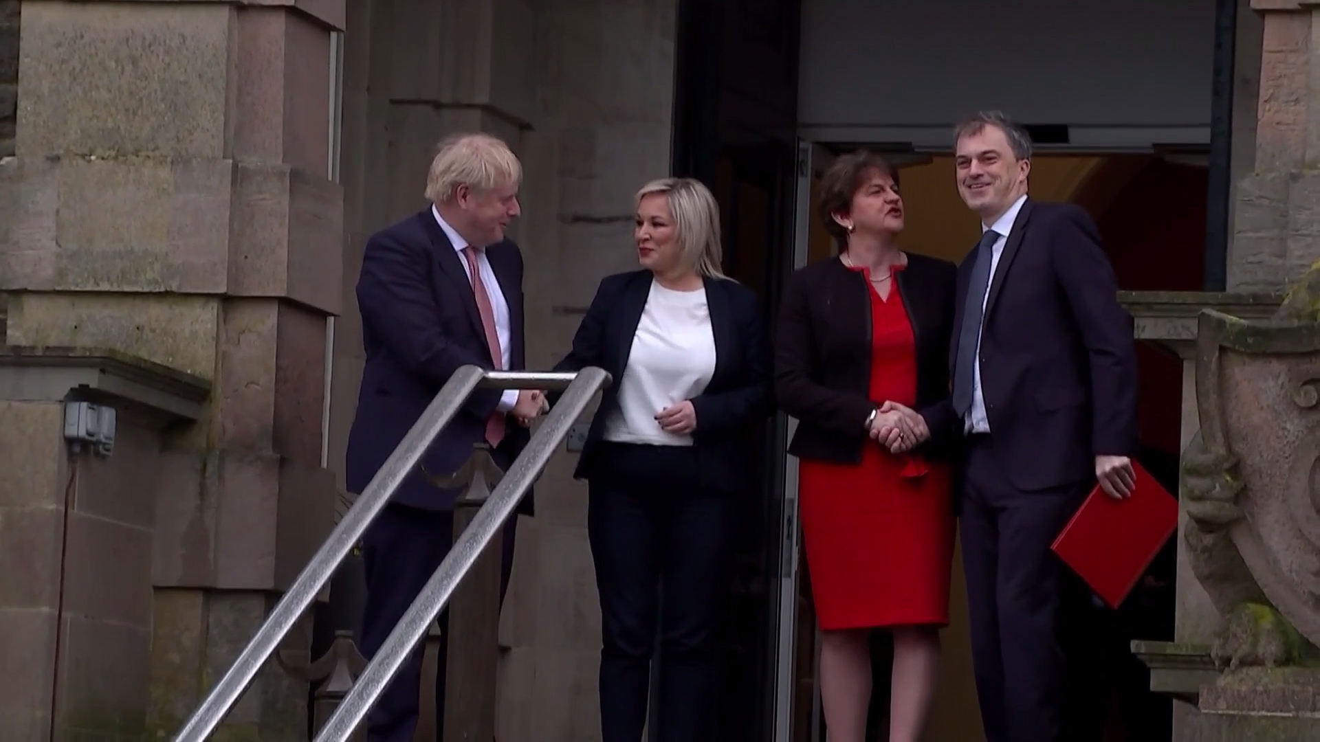 Johnson welcomes return of Northern Ireland government – Channel 4 News