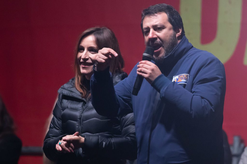 Populist Salvini poised for breakthrough in Italian regional elections - channel 4