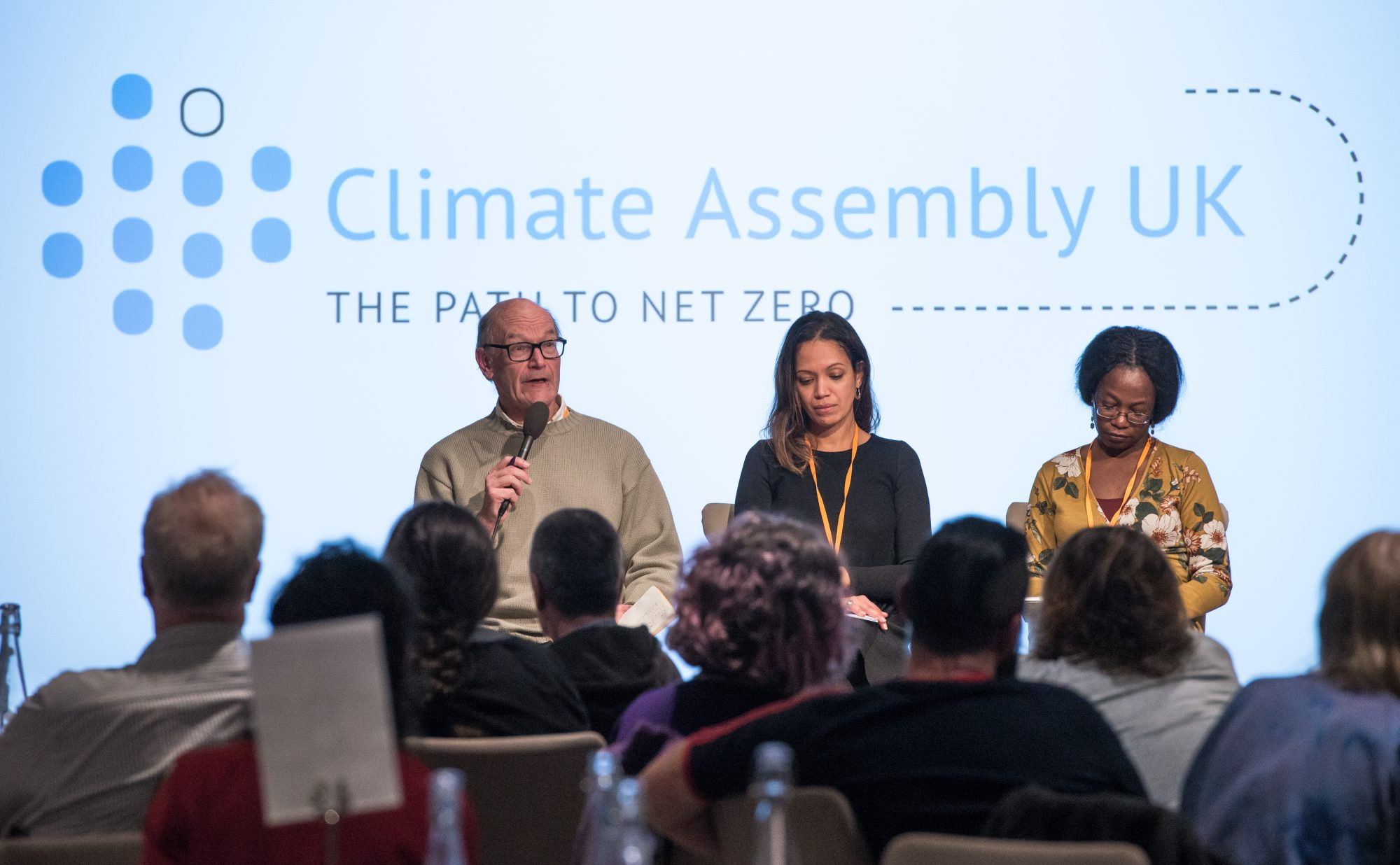 Citizens' Climate Assembly meets for first time