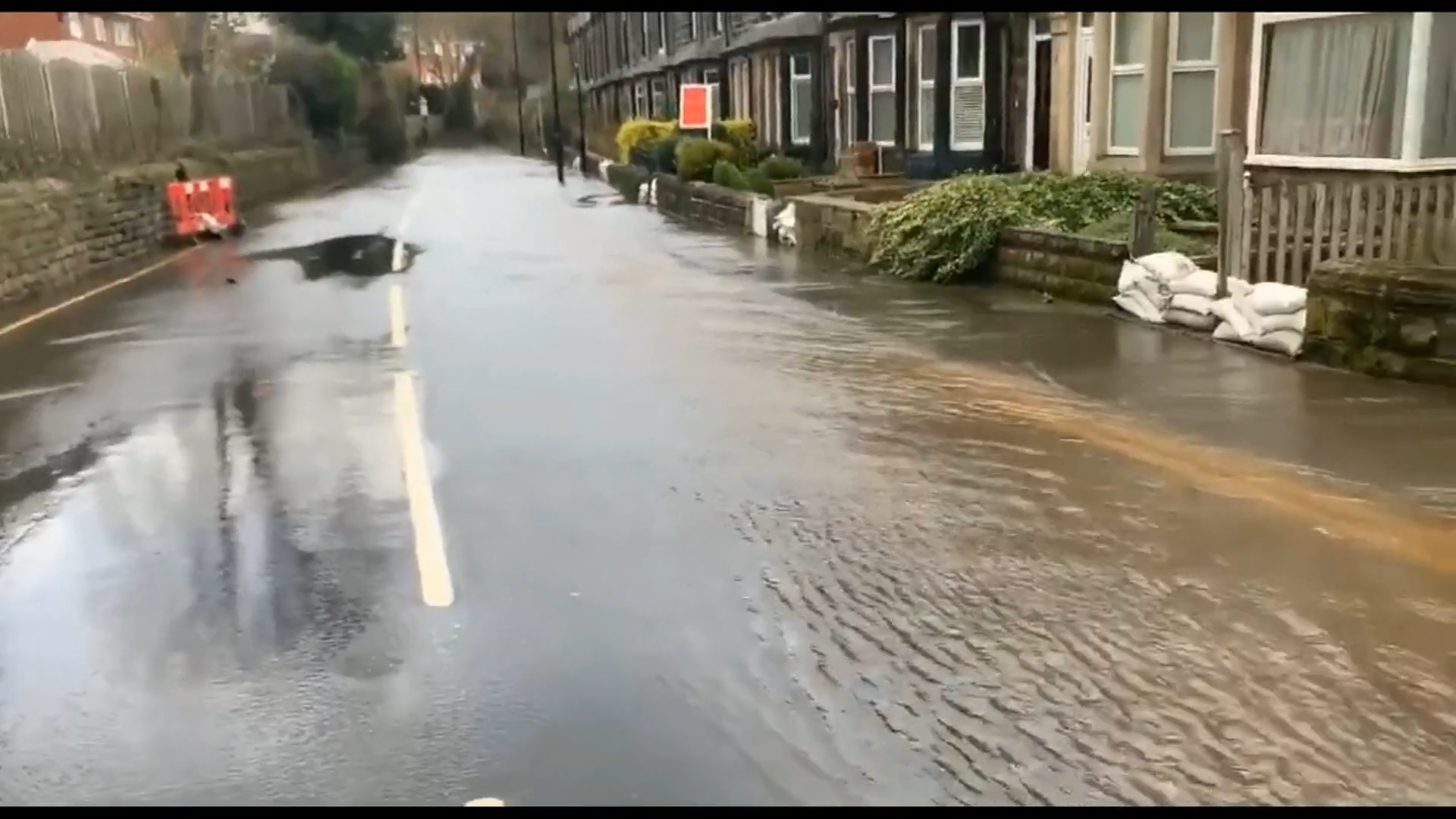 Yorkshire Dales hit by further floods as government pledges £4bn for defences - channel 4