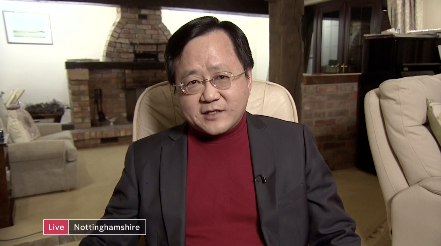 'We always have to be careful with official Chinese government statistics' –  Prof Steve Tsang