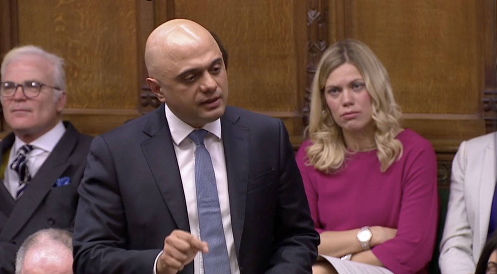 Javid blasts Johnson aide in post-resignation Commons statement - channel 4