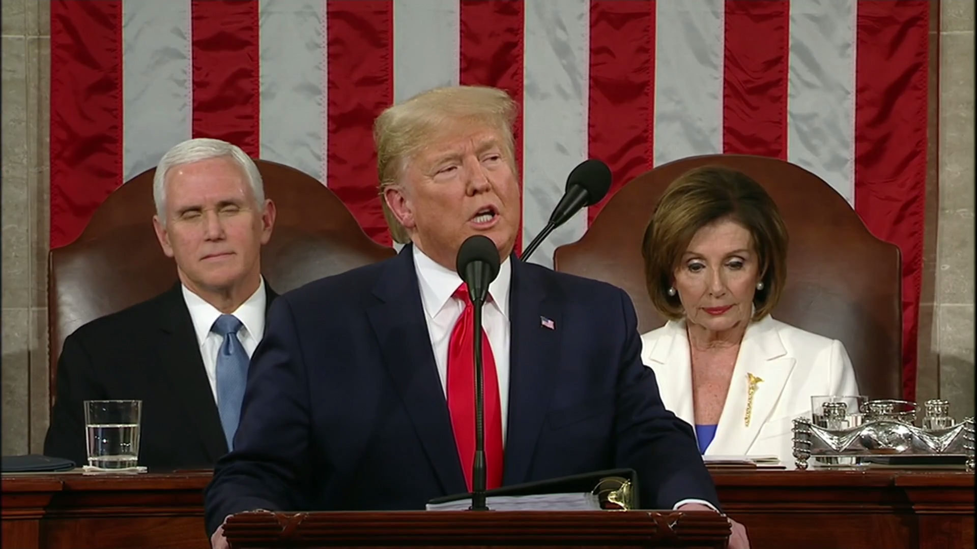 Ux9hJDgS5Gg image 1920x1080 - As America awaits impeachment verdict Trump gives State of the Union address – Channel 4 News