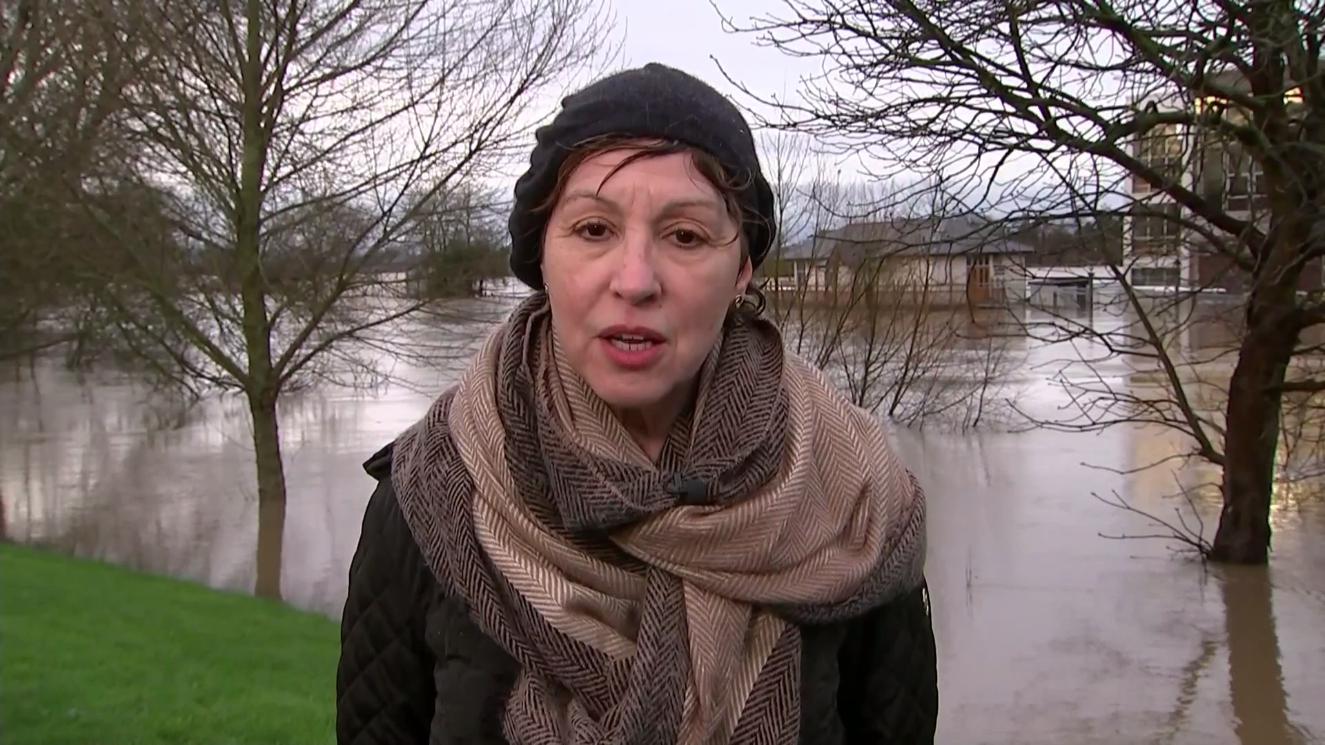 'More homes would have been flooded if it wasn't for investment put in' – Environment Minister Rebecca Pow - channel 4