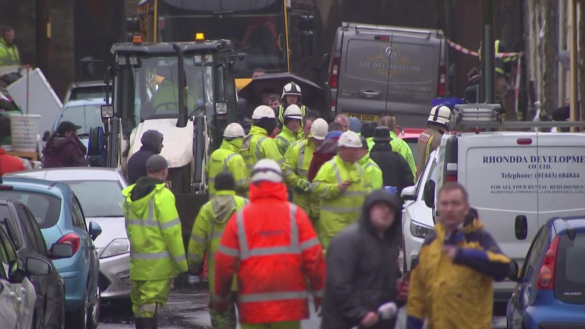 More rain hits Wales amid Storm Dennis fallout