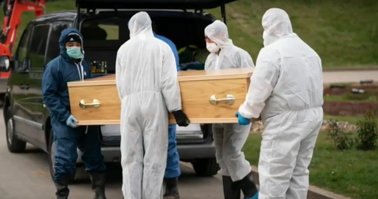 Family of UK's youngest coronavirus victim unable to attend his funeral - channel 4
