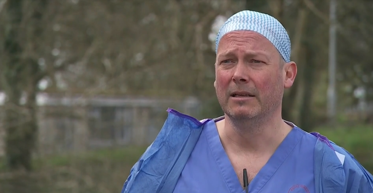 'All our ICU patients are in their 50s or younger' – frontline Welsh doctor who recovered from virus - channel 4