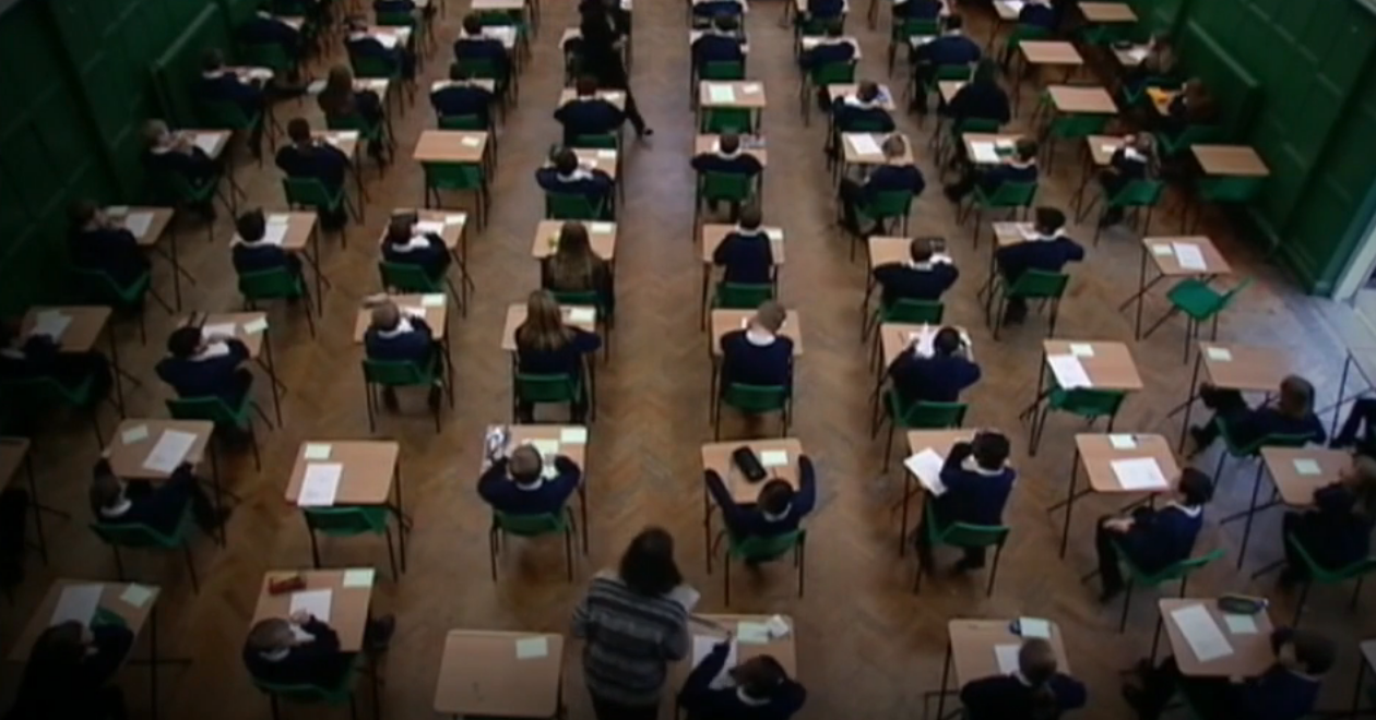 Exams grades in England to be decided by teacher assessment, mocks and coursework - channel 4