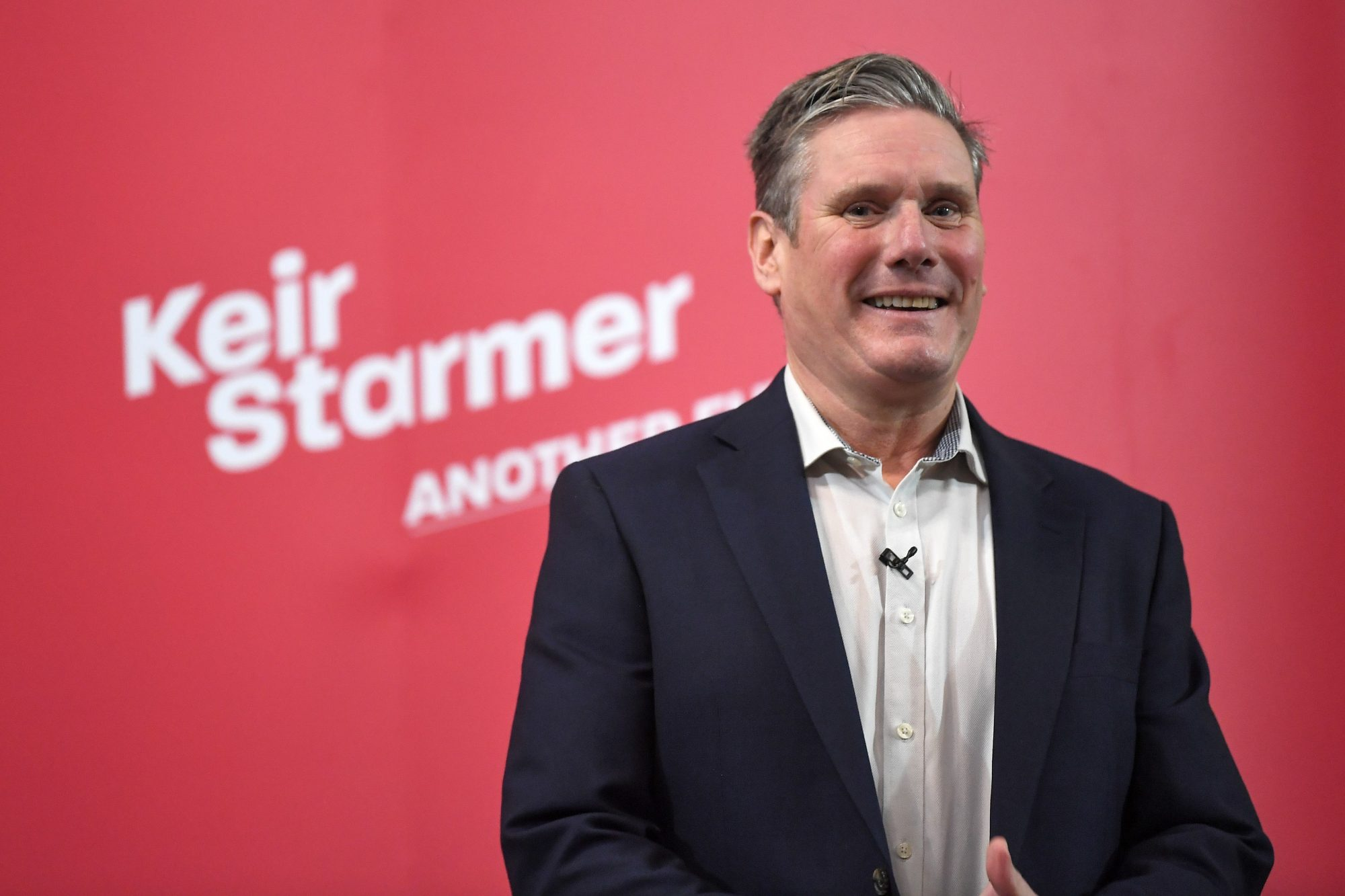 Keir Starmer storms Labour leadership contest - channel 4