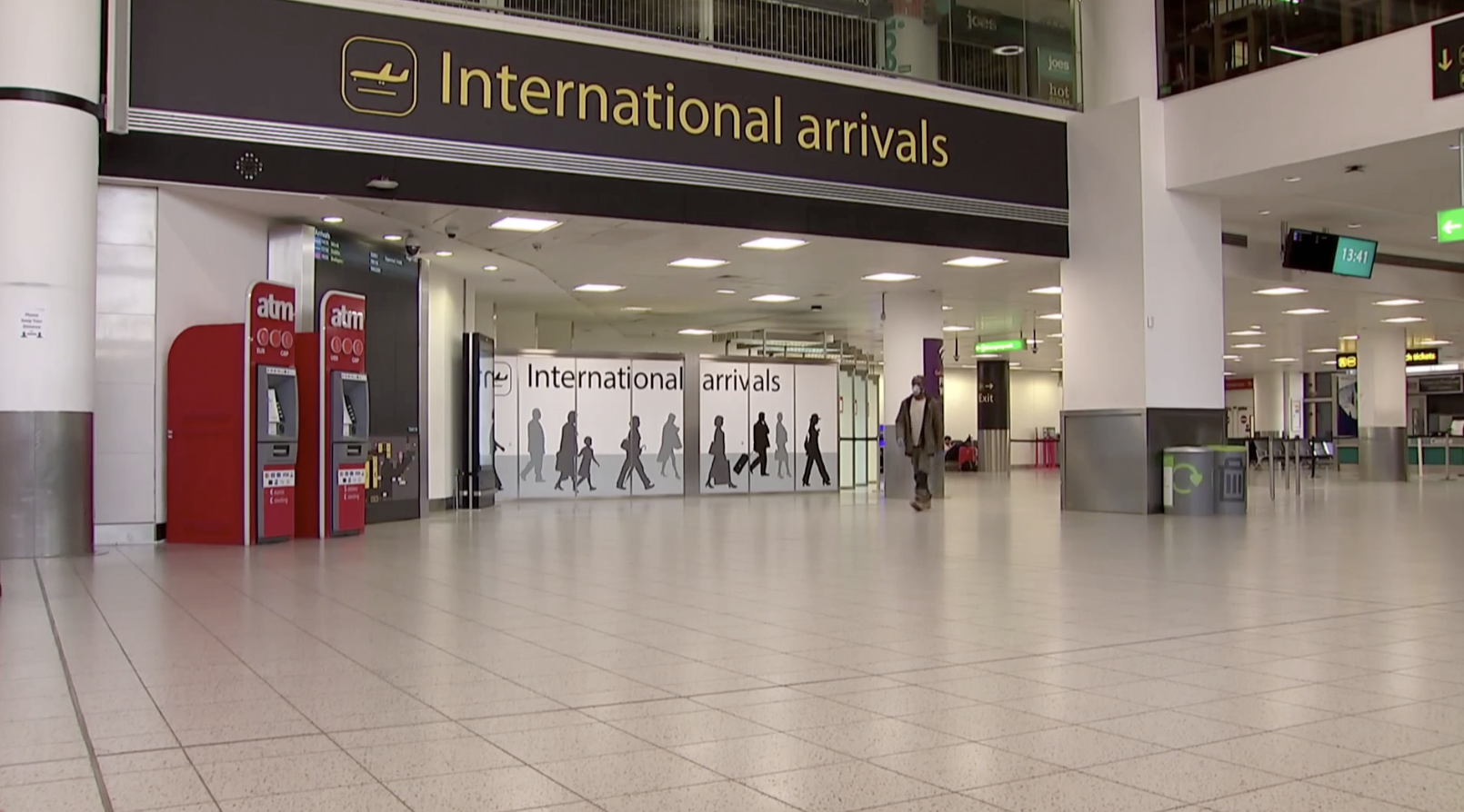 14-day quarantine for people arriving into UK - channel 4