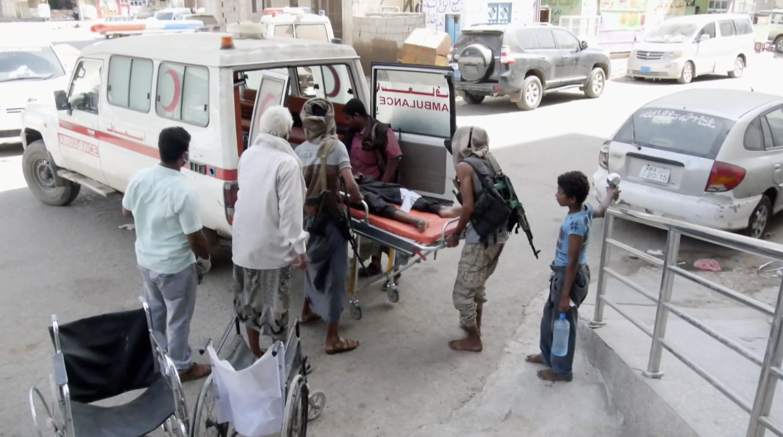 Doctors fear silent Covid disaster in Yemen - channel 4